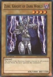 Zure, Knight of Dark World - 1st Edition - SDGU-EN004
