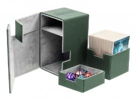 Flip´n´Tray Deck Case 100+ - Standard Size - XenoSkin - Green