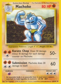 Machoke - BaSet 34/102 - Unlimited