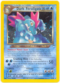Dark Feraligatr - 1st. Edition - NeoDes - 5/105