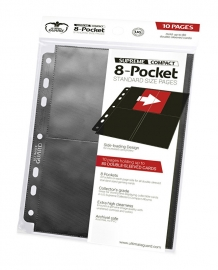 Ultimate Guard 8-Pocket Compact Pages Side-Loading Black