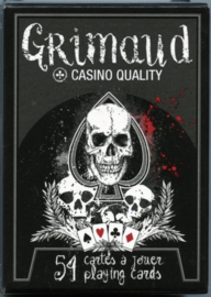 Grimaud - Death Game - Poker Playing Cards