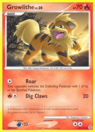 Growlithe - SecrWon - 89/132