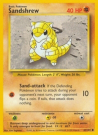 Sandshrew - BaSet 62/102 - Unlimited