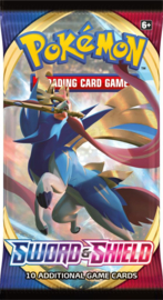 Pokemon - Sword & Shield - Booster Pack - Zacian