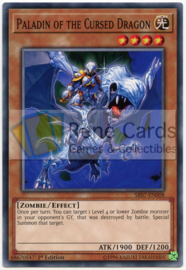 Paladin of the Cursed Dragon - 1st Edition - SR07-EN008