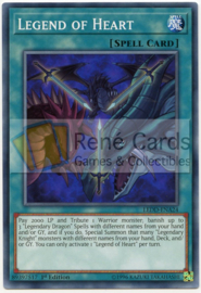 Legend of Heart -  1st. Edition - LEDD-ENA24