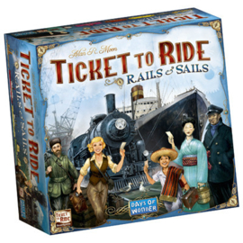 Ticket to Ride - Rails & Sails (Eng.)