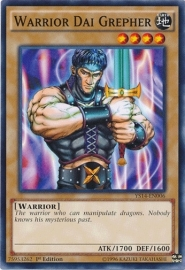 Warrior Dai Grepher - 1st Edition - YS14-EN006