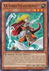XX-Saber Fulhelmknight - 1st. Edition - SP15-EN005