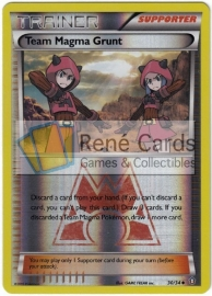 Team Magma Grunt - DouCri - 30/34 - Reverse