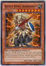 Beast King Barbaros - Unlimited - BP01-EN148