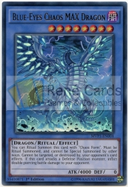 Blue-Eyes Chaos MAX Dragon - 1st. Edition - MVP1-ENG04