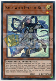 Sage with Eyes of Blue  - 1st. Edition - LDS2-EN011 - Green