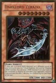 Darklord Zerato - Limited Edition - GLD4-EN022