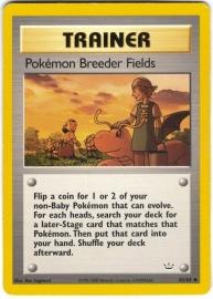 Pokemon Breeder Fields  - Unlimited - NeoRev - 62/64