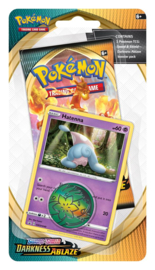 Pokemon - S&S - Darkness Ablaze - Checklane Blister Hatenna
