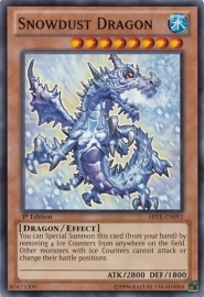 Snowdust Dragon - 1st Edition - ABYR-EN093