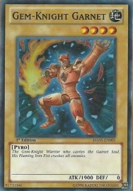 Gem-Knight Garnet - Unlimited - HA05-EN001