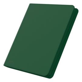 12-Pocket QuadRow ZipFolio XenoSkin Green