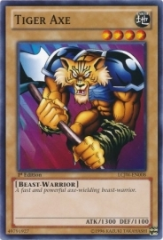 Tiger Axe - 1st. Edition - LCJW-EN008