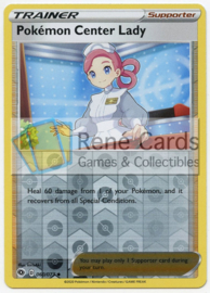 Pokémon Center Lady - Champion's Path - 060/073 - Reverse