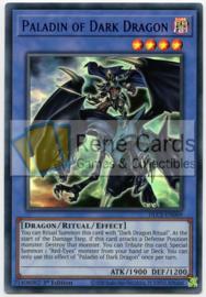 Paladin of Dark Dragon - 1st. Edition - DLCS-EN069 - Blue