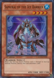 Samurai of the Ice Barrier - 1st. Edition - HA03-EN019