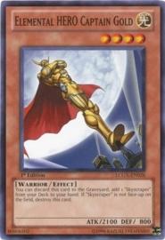 Elemental HERO Captain Gold - Unlimited - LCGX-EN026