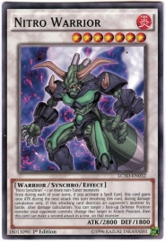 Nitro Warrior - 1st Edition - LC5D-EN032