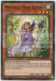 Mystical Fairy Elfuria - 1st. Edition - AC18-EN010