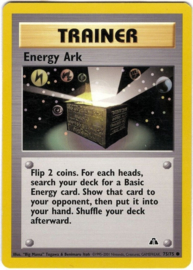Energy Ark - 1st. Edition - NeoDis - 75/75