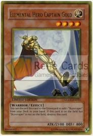 Elemental HERO Captain Gold - Limited Edition - GLD2-EN025