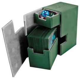 Flip´n´Tray Deck Case 80+ - Standard Size - XenoSkin - Green