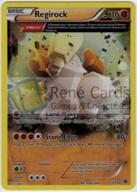 Regirock - XY49 - Promo - Roaring Skies Three Pack Blisters
