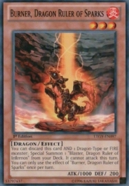 Burner, Dragon Ruler of Sparks -  Unlimited - LTGY-EN097