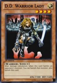 D. D. Warrior Lady - 1st Edition - BP02-EN021