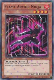 Flame Armor Ninja - Unlimited - SP13-EN015 - SF
