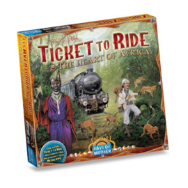 Ticket to Ride - The Heart of Africa (Eng.)