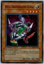 Ninja Grandmaster Sasuke - 1st Edition - SD5-EN015