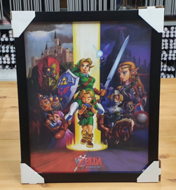 Mini Poster - Zelda - Coulage