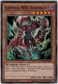 Elemental HERO Necroshade - Unlimited - SDHS-EN010
