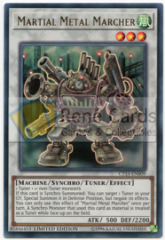 Martial Metal Marcher - Limited Edition - CT15-EN009