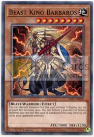 Beast King Barbaros - 1st. Edition - EGS1-EN008