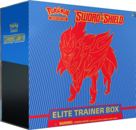 Pokemon - Sword & Shield - Elite Trainer Box - Zamazenta