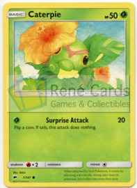 Caterpie - S&M BuSh  1/147 - Reverse