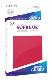 Supreme UX Sleeves Japanese Size Matte Red