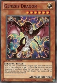 Genesis Dragon - Limited Edition - GLD4-EN028