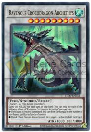 Ravenous Crocodragon Archethys - 1st. Edition - ETCO-EN043