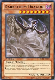 Darkstorm Dragon - 1st Edition - SDBE-EN008